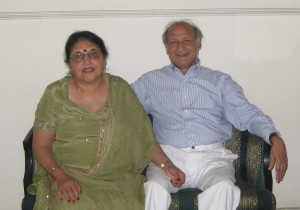 Narinder and Urmila Kapoor